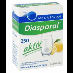 Diasporal Magnesium Activ Effervescent Tablets Lemon (20 pieces)