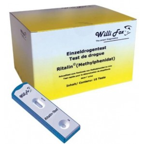 Willi Fox Drug Test Ritalin Urine (10 pieces)