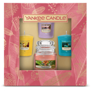 YANKEE CANDLE The Last Paradise Gift Set (1 + 3 pieces)