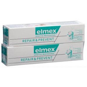 Elmex Sensitive Professional Repair & Prevent Toothpaste (2 x 75 ml)