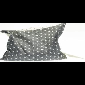 Himmelgrün Pillow Grape Seeds Hearts 30x20cm (1 pc)