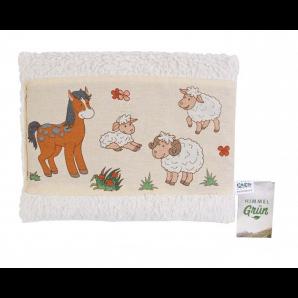 Himmelgrün Pillow Grape Seeds Sheep Pony 30x20cm (1 piece)