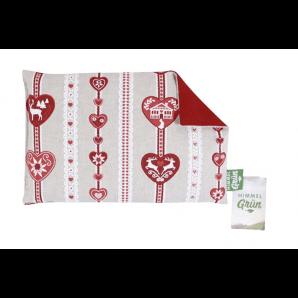 Himmelgrün Cherry Stone Pillow Deer Heart 30x20cm (1 Stk)