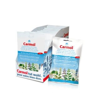 Carmol herbal sweets without sugar 12 sachets (75g)