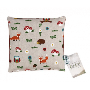 Himmelgrün Children's Cherry Stone Pillow Forest Animals 20x20cm (1 Stk)