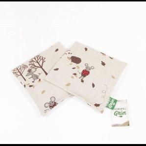 Himmelgrün Children Rapeseed Pillow Mice 20x20cm (1 pc)