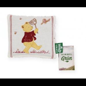 Himmelgrün Children Rapeseed Pillow Honey Bear Assorted 15x13cm (1 pc)