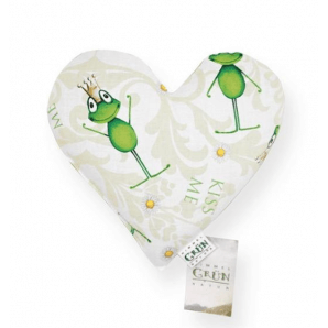 Himmelgrün Children Rapeseed Pillow Heart 25x23cm (1 pc)