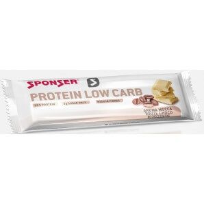 SPONSER Protein Low Carb Bar Mocca White Choco (25x50g)