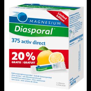 Diasporal Magnesium Activ Direct Zitrone - Limited Edition (24 Stk)