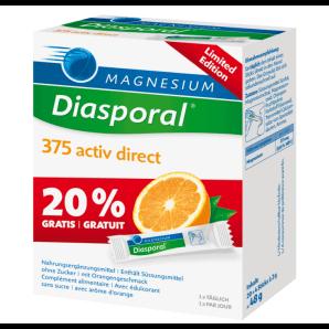Diasporal Magnesium Activ Direct Orange - Edition Limitée (24 pcs)