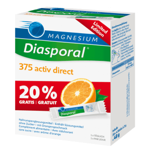 Diasporal Magnesium Activ Direct Orange - Limited Edition (24 Stk)