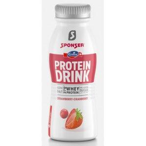 SPONSER Protein Drink Strawberry-Cranberry (330ml)