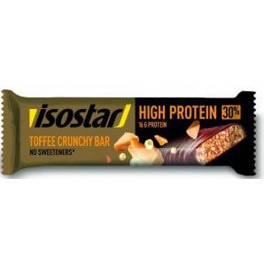 Isostar High Protein Bar Toffee Crunchy Bar (55g)