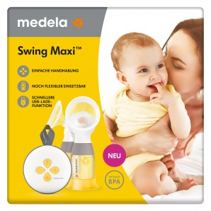 Medela Electronic Double Breast Pump Swing Maxi (1 pc)