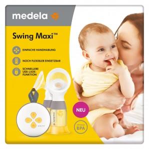 Medela Elektronische Doppel-Milchpumpe Swing Maxi (1 Stk)