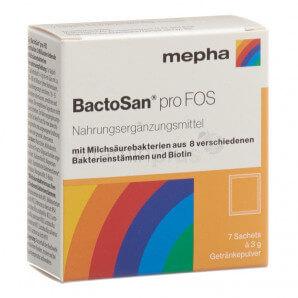 BactoSan - pro FOS Getränkeepulver (7 Beutel)