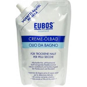 EUBOS BAIN D'HUILE DE CRÈME Recharge (400ml)