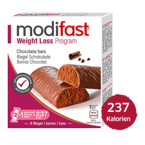 Modifast Weight Loss Program chocolate flavored bar (6x31g)