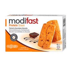 Modifast Protein Snack Choco Cereal Biscuits (4x4 pcs)