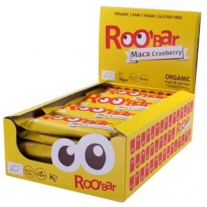 RooBar Raw Food Bar Maca Cranberry (16x50g)