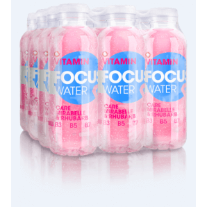 FOCUS WATER care Mirabelle / Rhubarb (12x50cl)