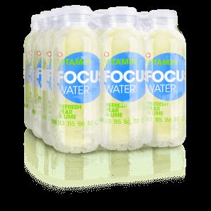 FOCUS WATER refresh Birne/Limette (12x50cl)