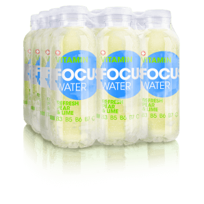 FOCUS WATER refresh pear / lime (12x50cl)