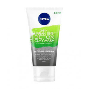 Nivea 3-in-1 Urban Skin Detox Claywash (150 ml)