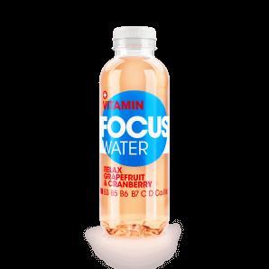 FOCUS WATER relax grapefruit / cranberry (50cl)