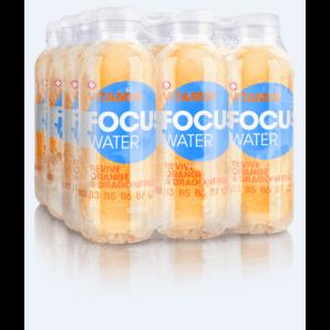 FOCUS WATER revive Orange/Drachenfrucht (12x50cl)