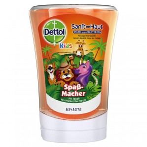 Dettol Kids No-Touch Hand Soap Refill Fun Maker (250ml)