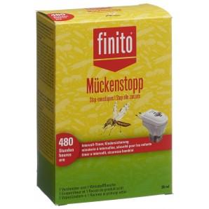Finito Mosquito Repellent Plug With Timer + Liquid (36ml)
