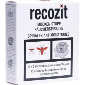 Recozit Mücken Stopp Räucherspiralen (5x2 Stk)