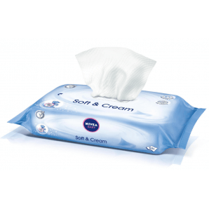 Nivea Baby Soft & Cream Wet Wipes (63 pcs)