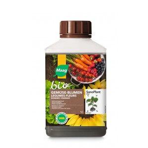 Maag Bio Dünger Gemüse & Blumen (500ml)