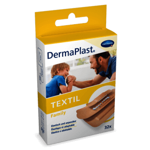 DermaPlast TEXTIL Schnellverband 6x10cm (10 Stk)