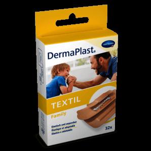 DermaPlast TEXTIL quick bandage 6x10cm (10 pieces)