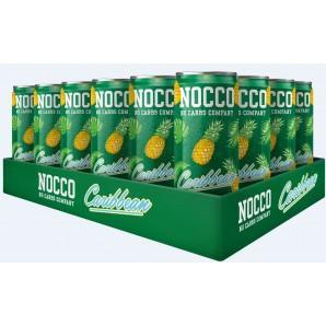 NOCCO BCAA Caribbean sans caféine (24x330ml)