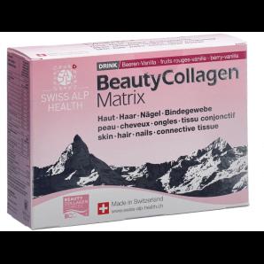 Swiss Alp Health Beauty Boisson aux baies de collagène (25 sachets)