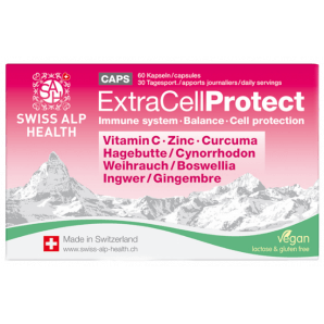 Swiss Alp Health Capsules Extra Cell Protect (60 pièces)