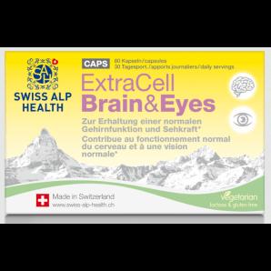 Swiss Alp Health Capsule Cerveau & Yeux Extra Cell (60 pcs)
