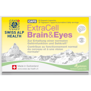 Swiss Alp Health Extra Cell Brain & Eyes Capsule (60 pcs)