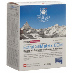 Swiss Alp Health Extra Cell Matrix Drink Joints Baies (30 sachets)