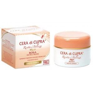 CERA DI CUPRA Crème Anti-Age Rose Pour Peaux Sèches (100ml)