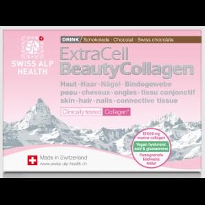 Swiss Alp Health Extra Cell Beauty Collagen Choco Drink (20 Beutel)