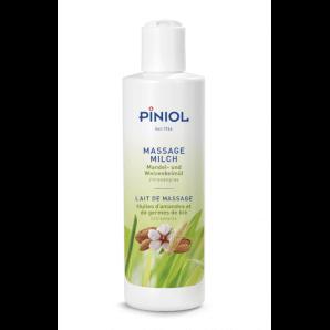 Piniol massage milk with lemongrass without paraffin (250ml)
