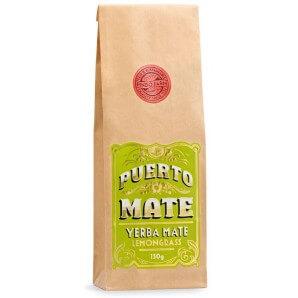 PUERTO MATE tea leaves Yerba Mate lemongrass refill bag (150g)