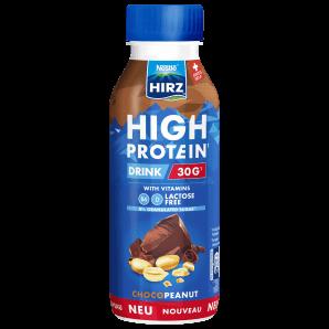 HIRZ High Protein Drink Choco & Erdnuss (330ml)