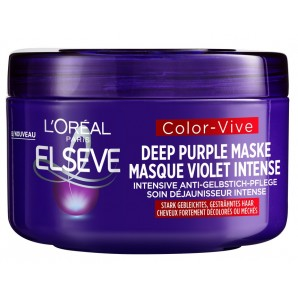 L'Oréal Elsève Color Vive Deep Purple Mask (250ml)